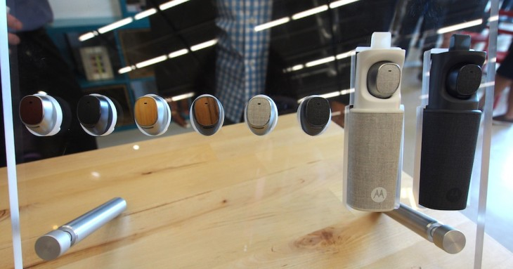 Moto Hint is a Bluetooth earbud that you can use to control your smartphone