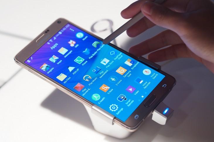 Samsung Galaxy Note 4 Hands-On