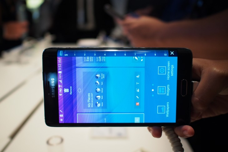 Samsung confirms the Galaxy Note Edge for a November 14 US launch
