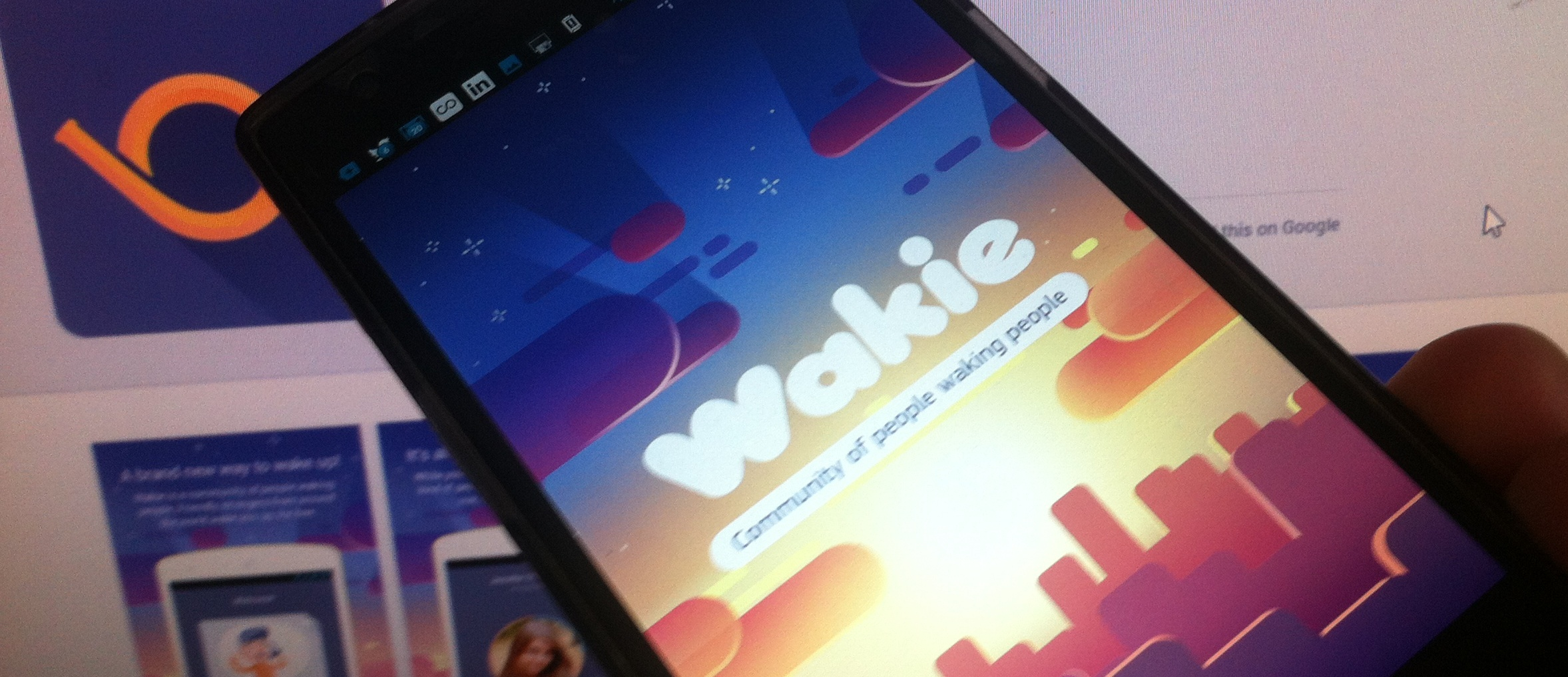 Wakie Wakes You With Phone Calls From Strangers