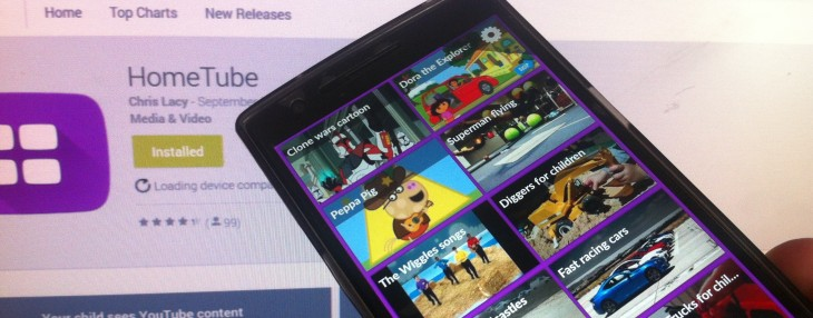 HomeTube brings child-friendly YouTube content to your Android device