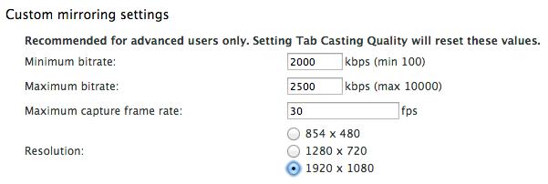 Google's Chromecast Gets 1080p Chrome Casting in Beta