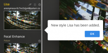 My new style named Lisa.