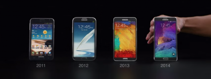 New Samsung ad claims Apple's iPhone 6 Plus 'imitates' the Galaxy Note