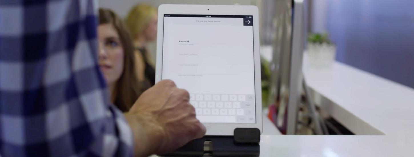 Envoy turns the cumbersome process of visitor registration into a sleek, digital experience