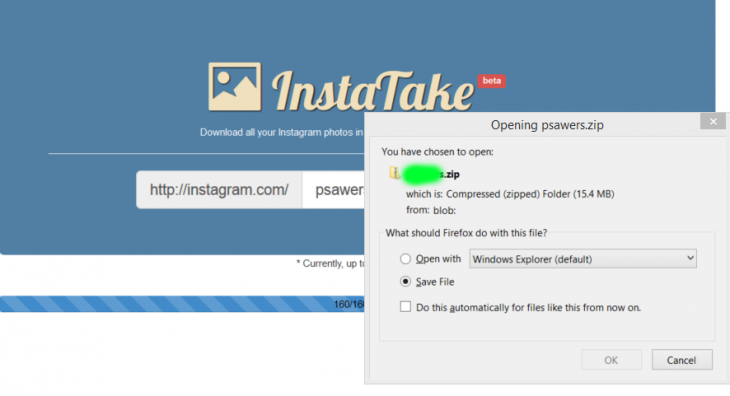 Download Anyone's Instagram Photos With InstaTake