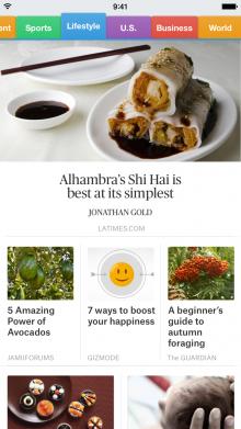 SmartNews screenshot1