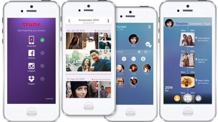 Trunx photo sharing and storage app for iOS 8 gets tweaked UI and new features