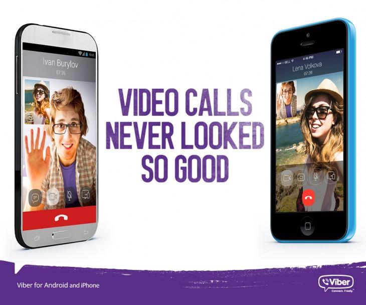 Viber video calls