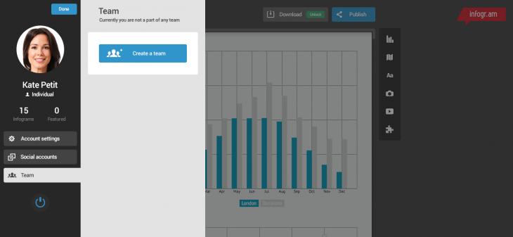 create-team-interface