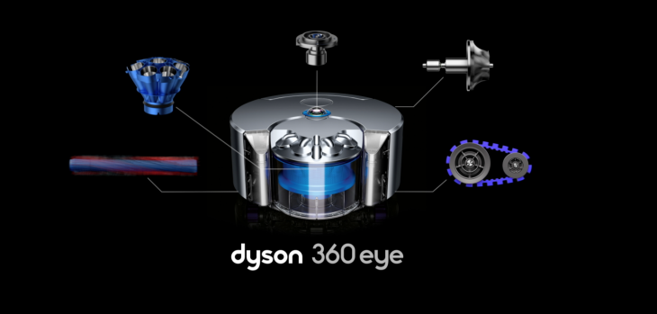 The 360 Eye is Dyson's first robotic vacuum cleaner