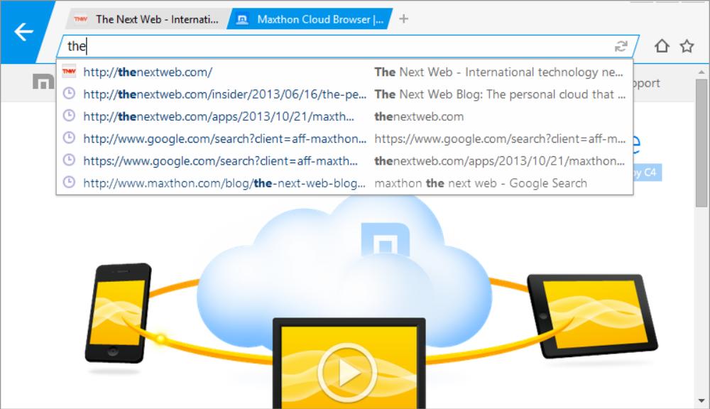 Maxthon Launches MxNitro for Windows
