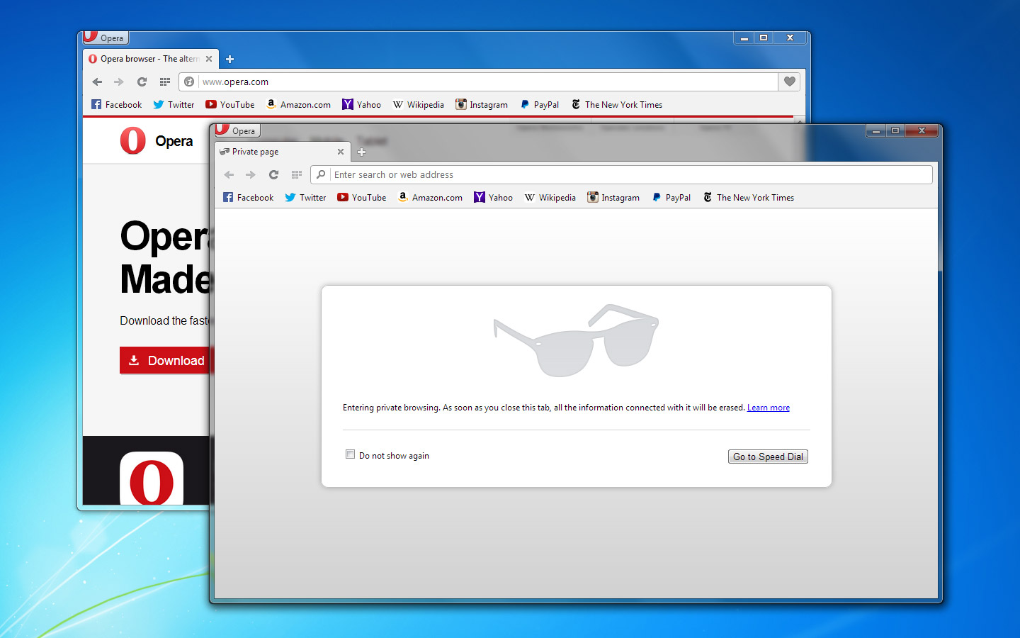 Opera 24 Lands with New Tab Preview Feature