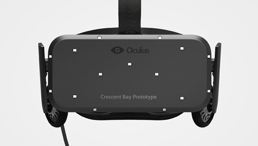 Oculus unveils Crescent Bay prototype virtual reality headset