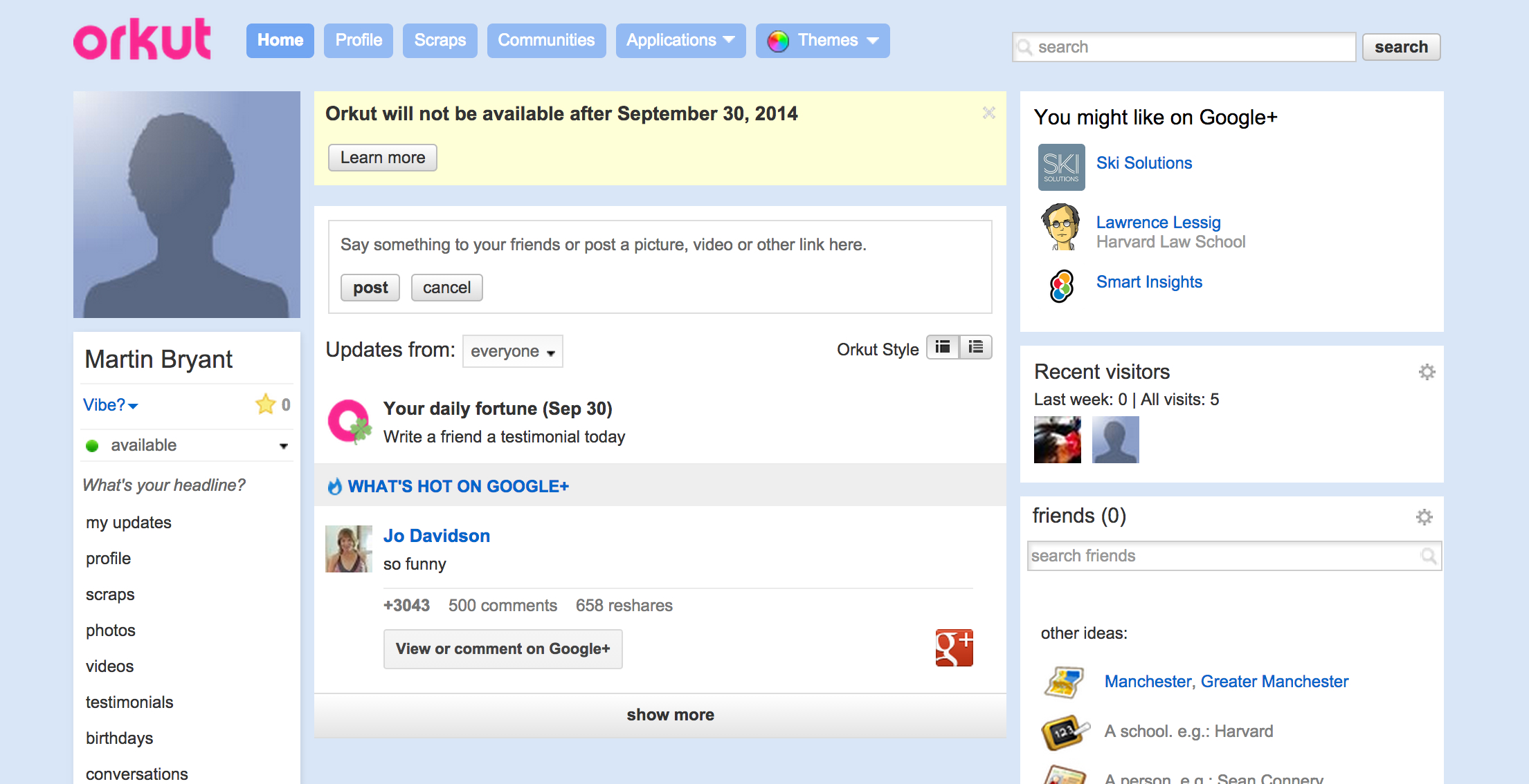 how to get ggogle profile photo to work