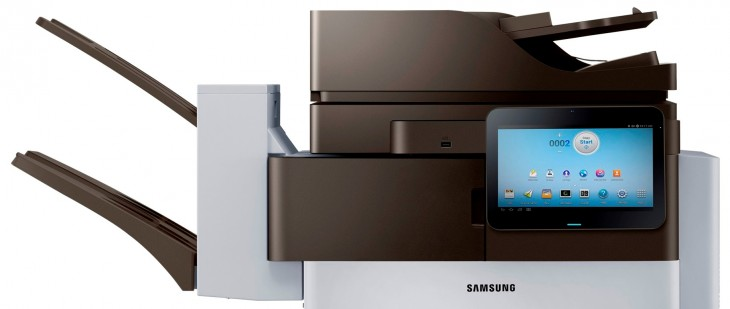 Samsung launches Android-powered printers, with a 10.1″ screen that connects you directly to the ...