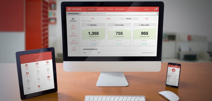 Remotely launches its home automation service for property managers