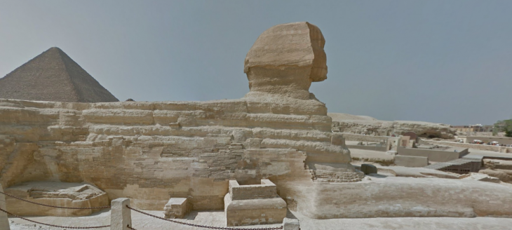 Google Street View now transports you into Ancient Egypt