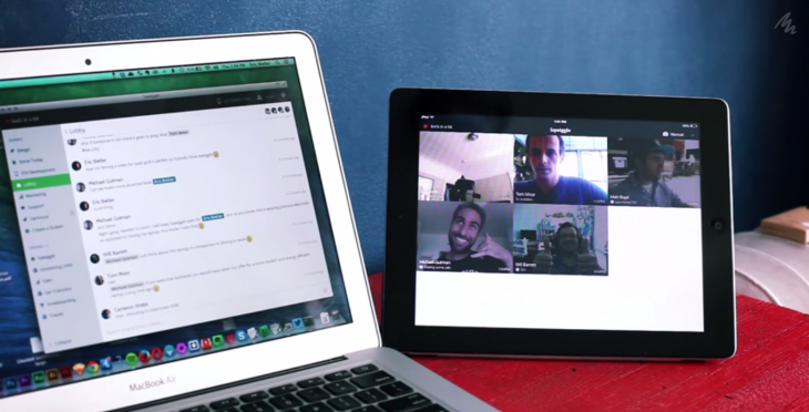 Sqwiggle now lets you use your iPad as a 'second screen' for always-on team video chats