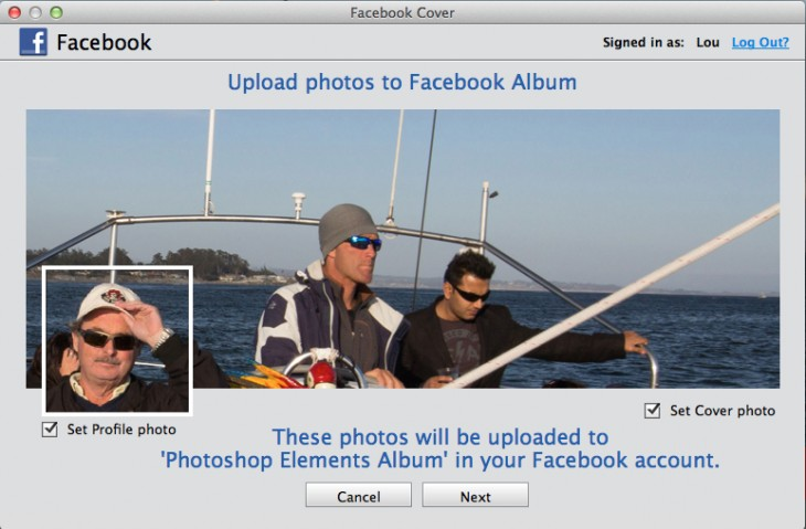 upload to FB
