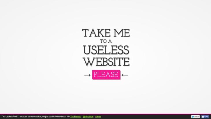 useless web