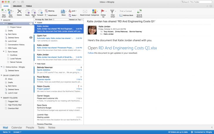 Microsoft announces an all-new Outlook for Mac, available for Office 365 users