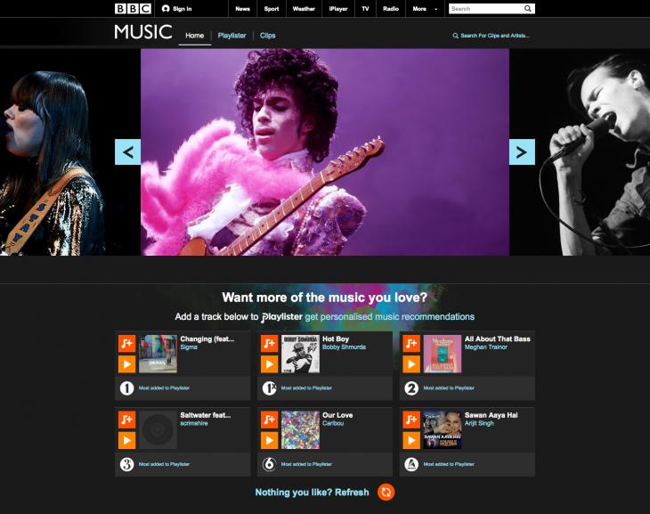 01_Music_Homepage