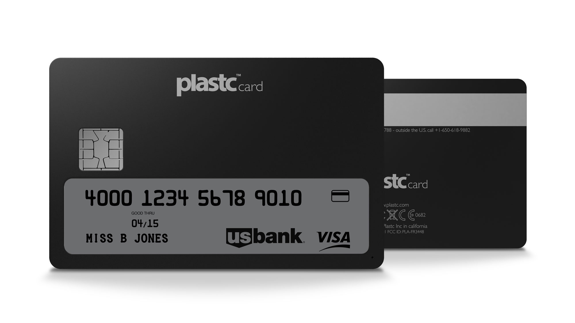 The Plastc all-in-one payment card could eat Coin's breakfast