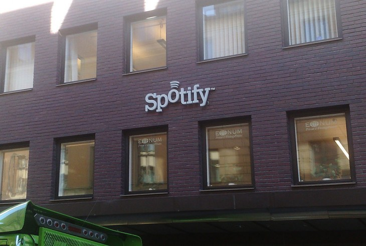 Spotify tech company names