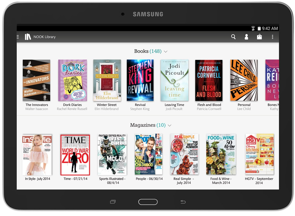 Samsung galaxy to pc screenshot tab 4 nook edition 10.1