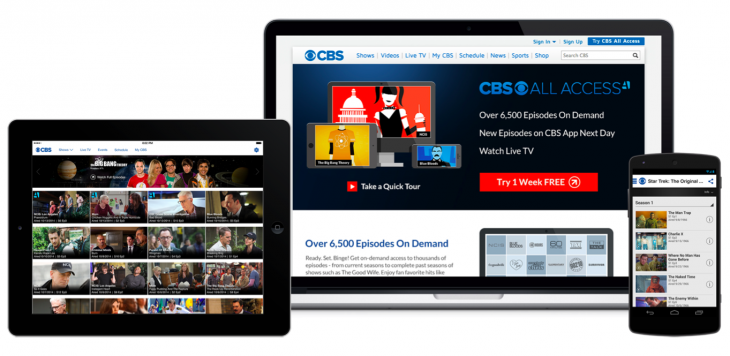 CBS cuts the cord with CBS All Access, a $5.99 per month streaming subscription
