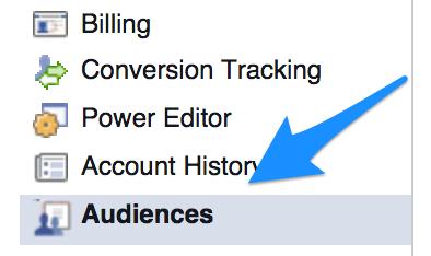 Audiences-facebook-menu