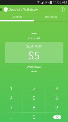 Deposit-Withdraw