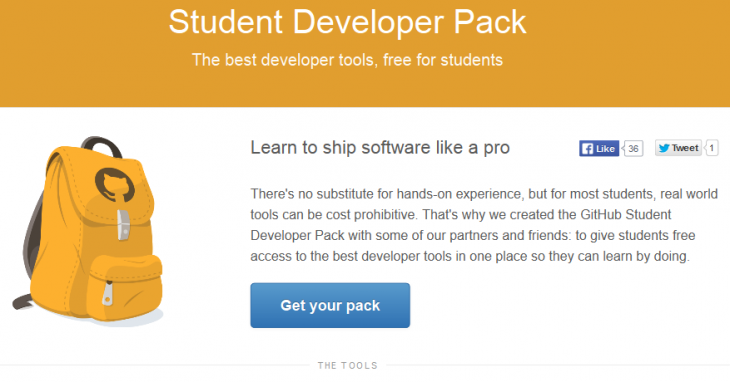 GitHub's Student Developer Pack gets free access to Microsoft Visual Studio Community 2013