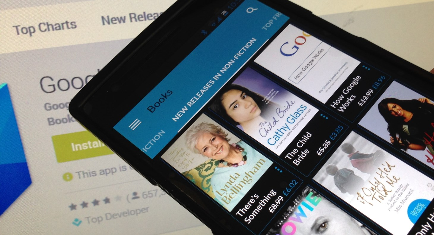 Google updates Play Books app to make reading non-fiction easier