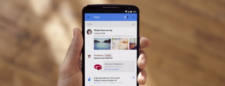 Inbox by Gmail is getting a delete button and signature support but no 'mark unread' option ...
