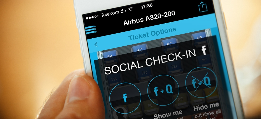 Quicket App Can Show Who's on the Same Flight as You