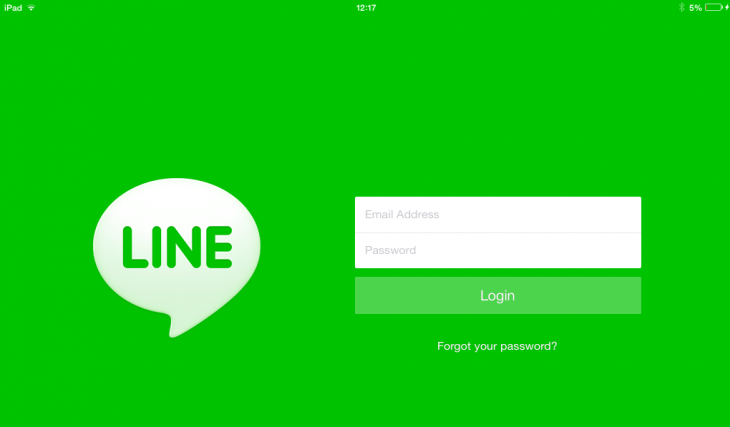 Line iPad