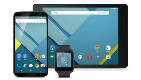 Developers can now download the full Android 5.0 Lollipop SDK