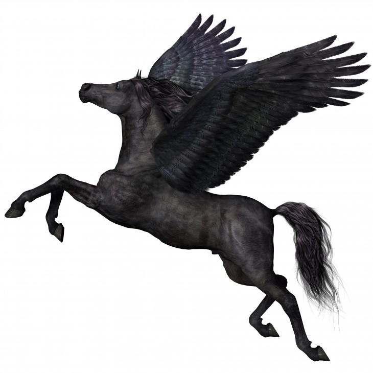 Pegasus: the inspiration behind Asus' range of solid consumer electronics. Credit; Shutterstock