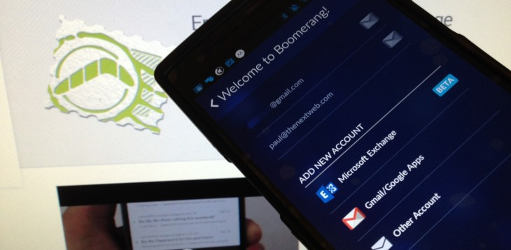 Boomerang for Android now reminds you of email messages when you arrive at specific locations