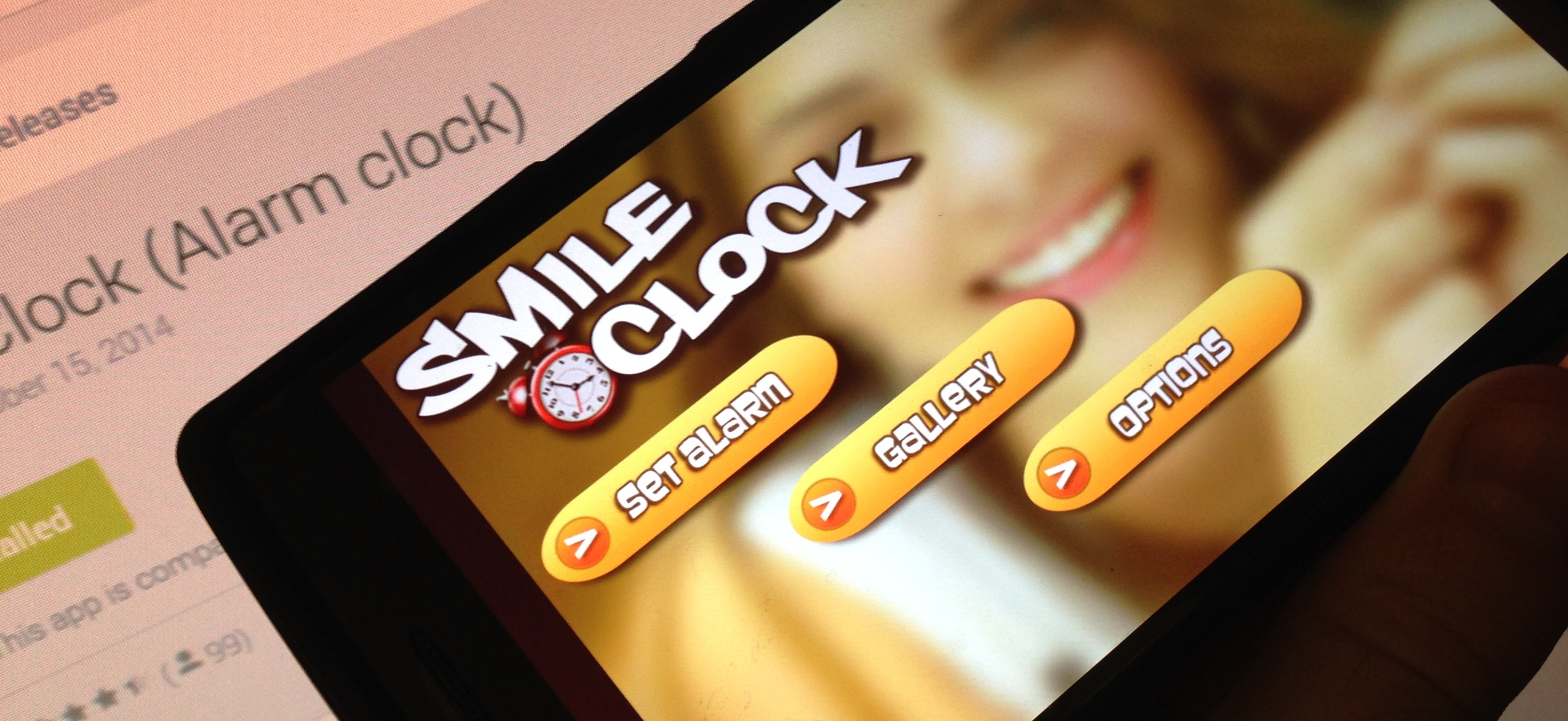 Smile Clock: Grin to Switch Your Alarm Off