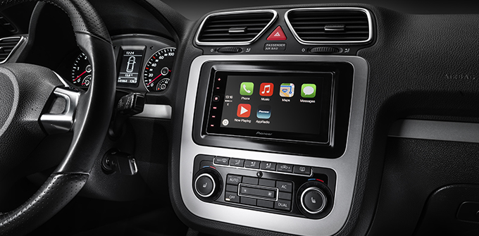 Pioneer launches its first Apple CarPlay stereos, while Spotify adds support to its iOS app