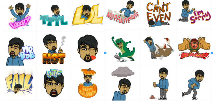 Bitstrips turns its cartoon avatars into emoji stickers with new Bitmoji app