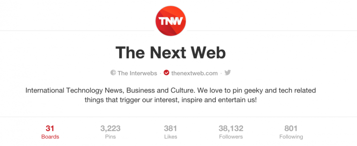 Pinterest updates its profile pages with round photos and a centered design