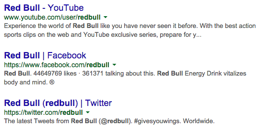 Social-Media-Search-Results