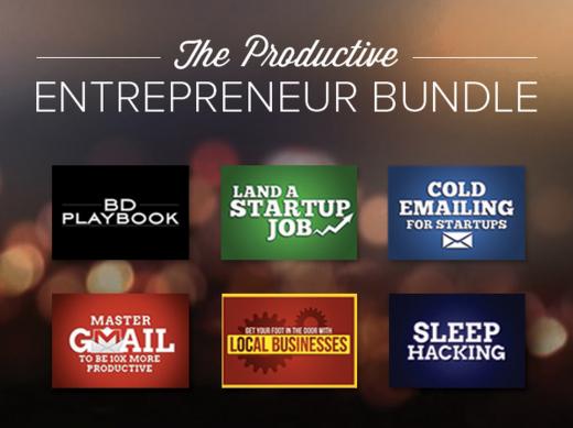 The Productive Entrepreneur Bundle
