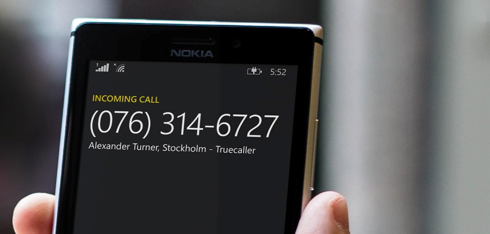 Truecaller Brings Live Caller ID to Windows Phone Users