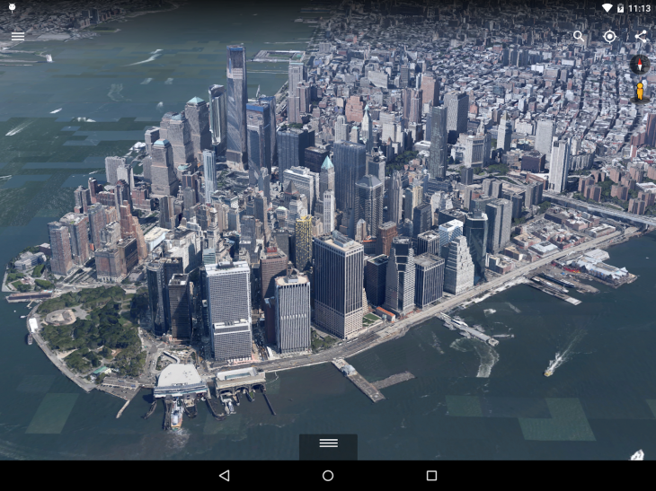 Google Earth for Android gets a 3D overhaul and faster map updates