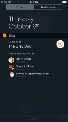 foursquare-widget